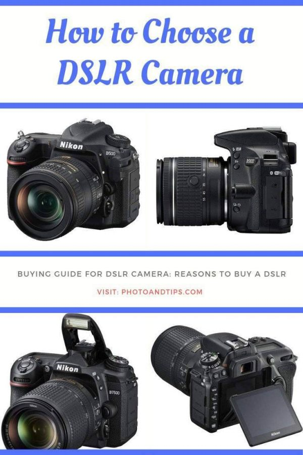 Buying guide for DSLR Camera-Reasons to Buy a DSLR.