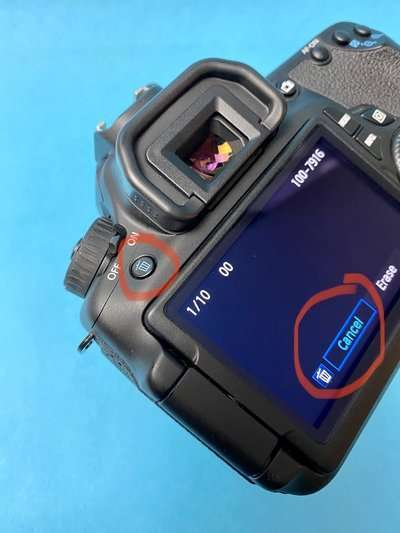 Canon Camera Buttons and Settings Explained