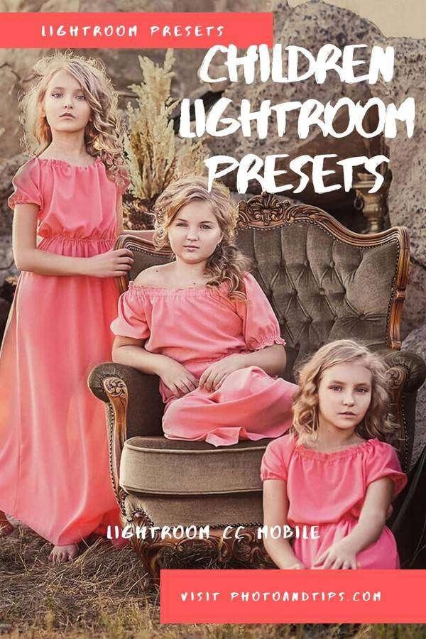 Children Lightroom Presets