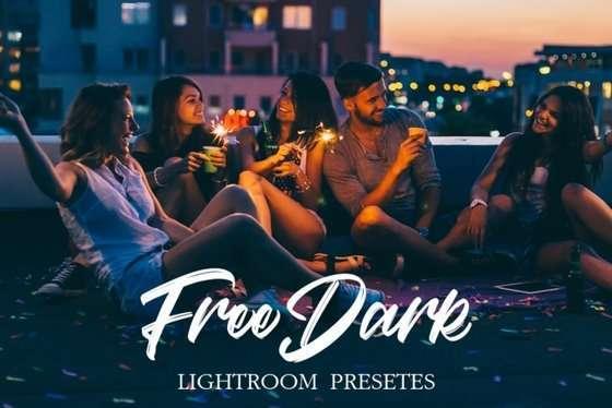 Dark Lightroom Presets for Free