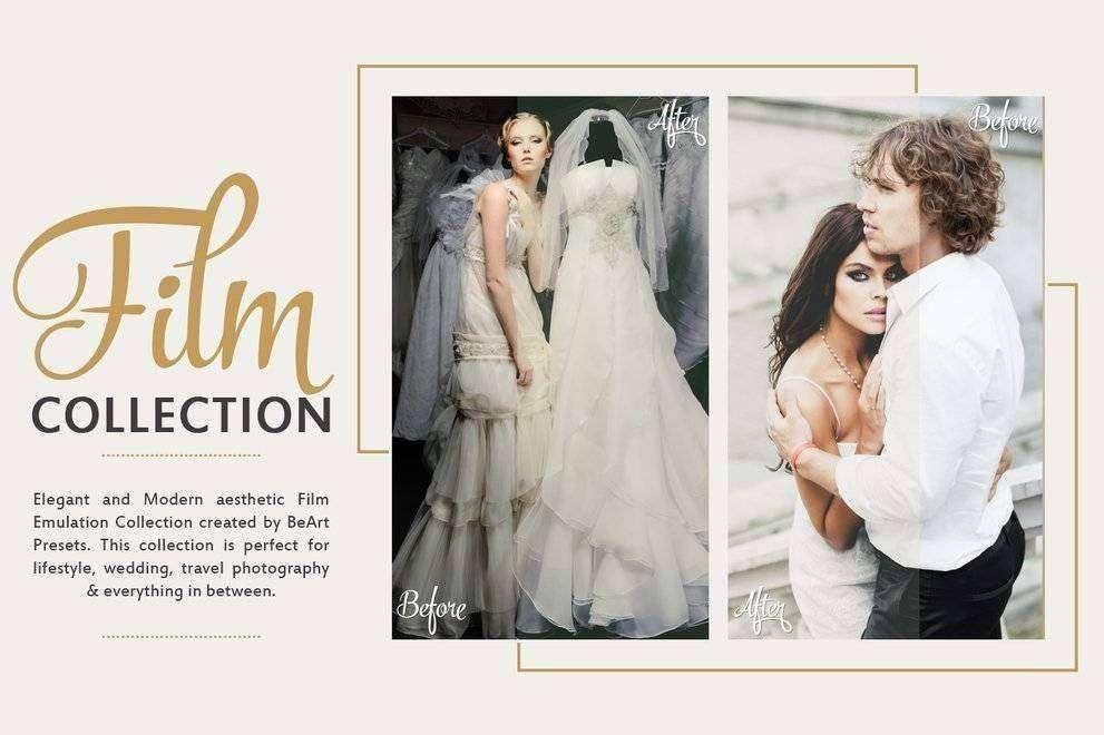 Film Wedding Lightroom Presets - Photoshop Actions