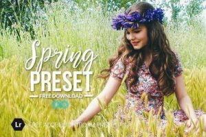 Free Spring Lightroom Preset