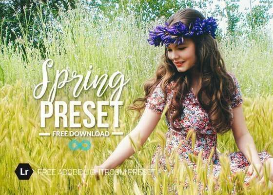 Free Spring Lightroom Preset