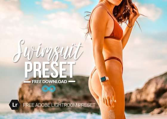 Free Swimsuit Lightroom Preset