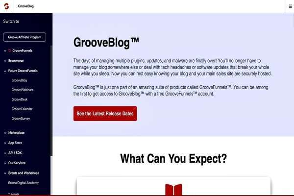 GrooveBlog changes the way people used to publish content online