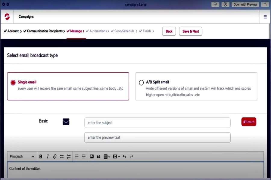 GrooveDigital - GooveMail Platform App
