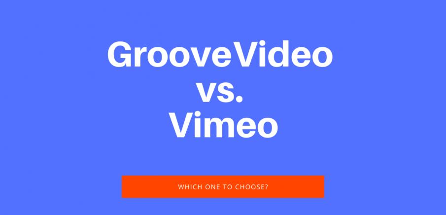 GrooveVideo vs. Vimeo