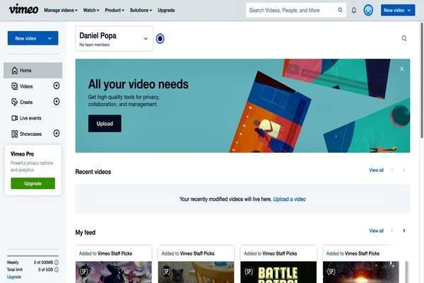 GrooveVideo vs. Vimeo: Choosing Best Video Marketing Platform
