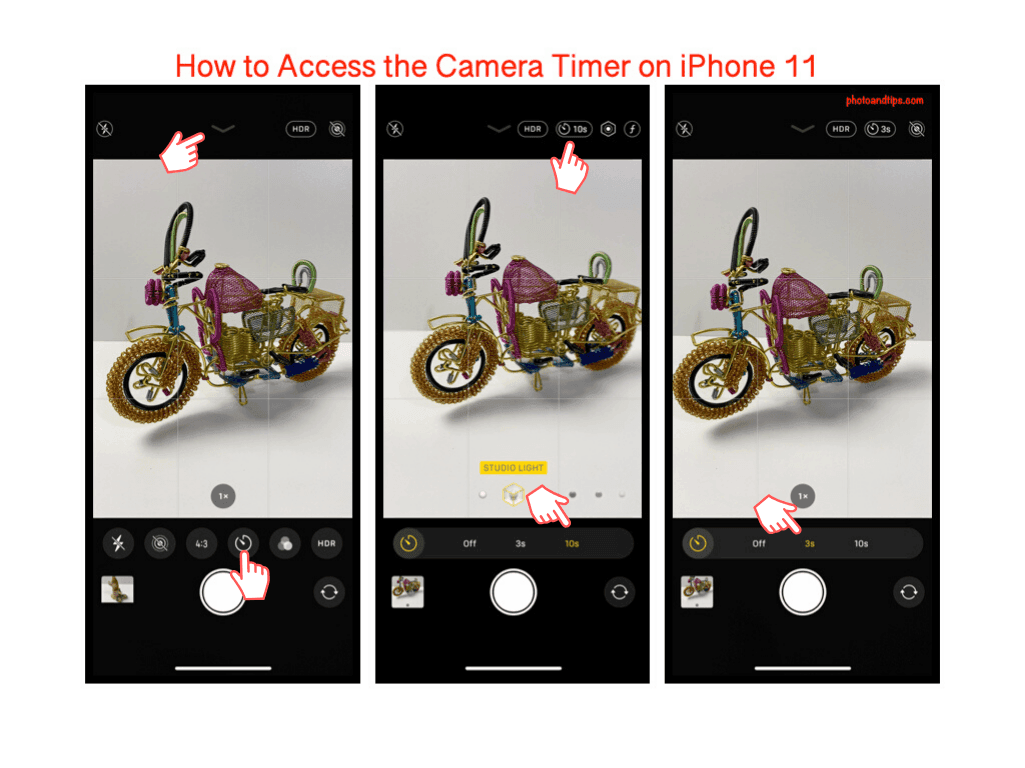 How to Access the Camera Timer on iPhone 11