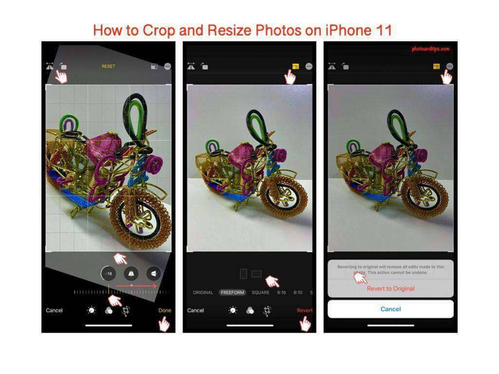 How to Crop and Resize Photos on iPhone 11