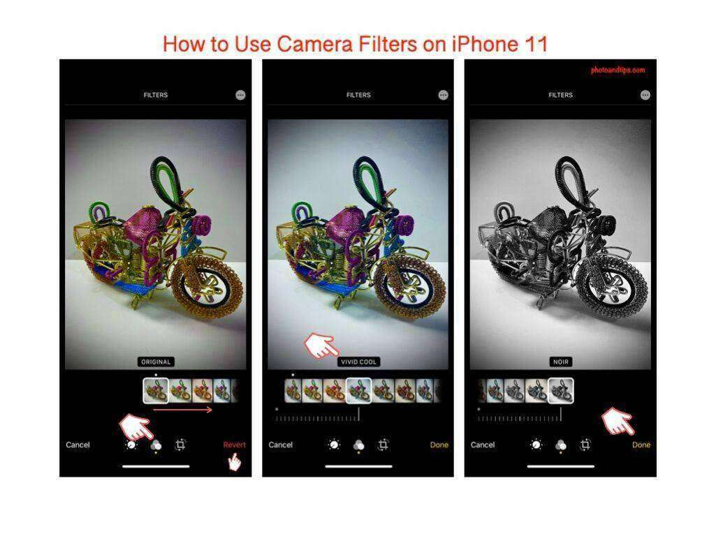 How to Use Camera Filters on iPhone 11