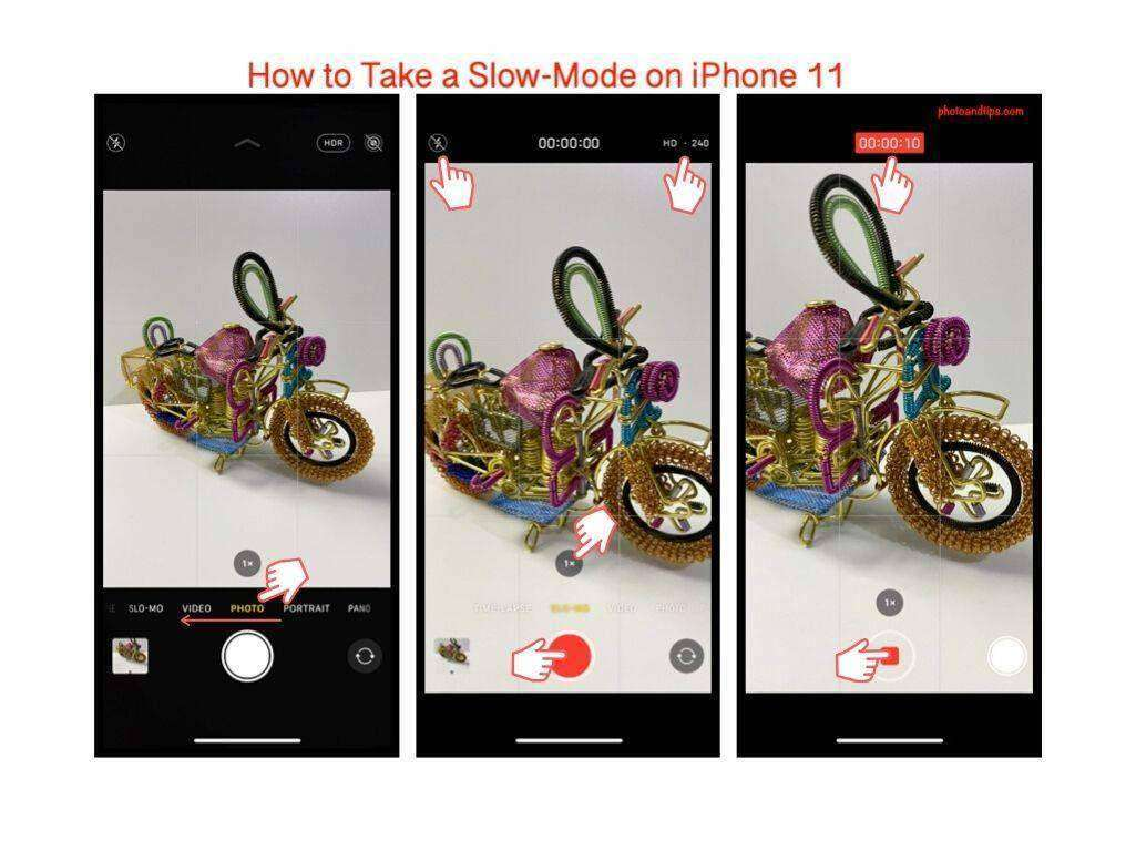 How to Take a Slow-Mode on iPhone 11