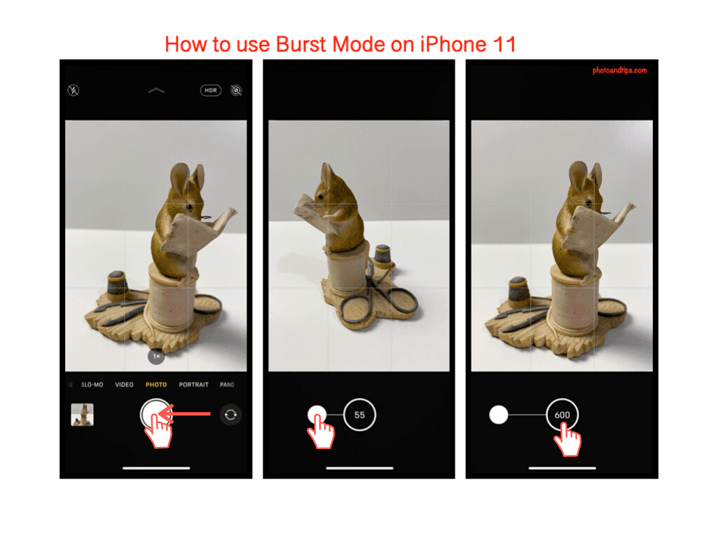 How to use Burst Mode on iPhone 11