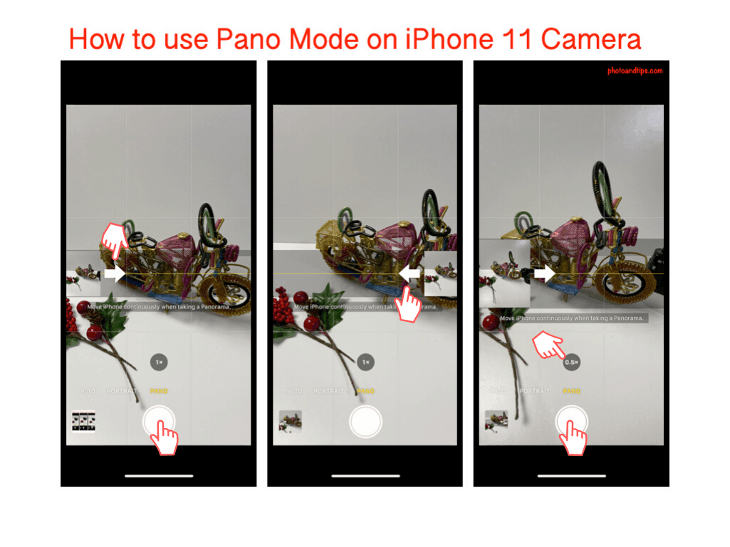 How to use Pano Mode on iPhone 11 Camera