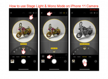 How to use Stage Light & Mono Mode on iPhone 11 Camera