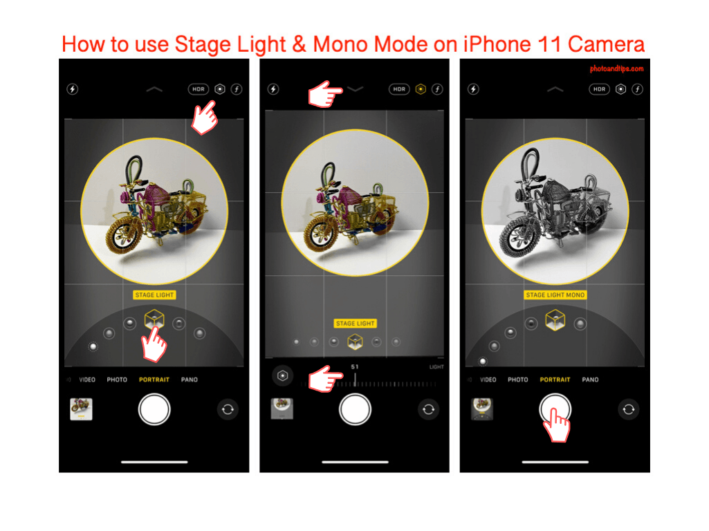 How to use Stage Light & Mono Mode on iPhone 11