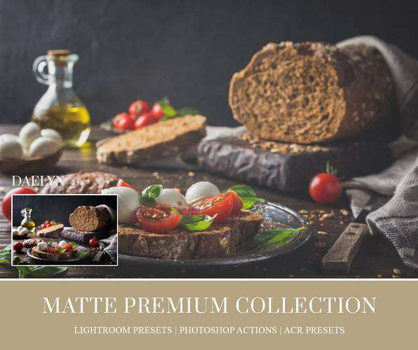 Matte Lightroom Presets - Photoshop Actions