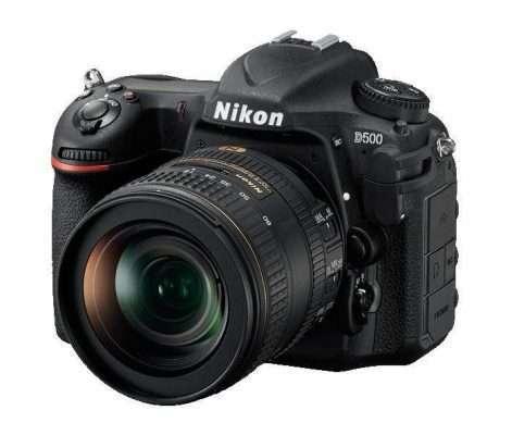 Nikon D500 Review Front Left