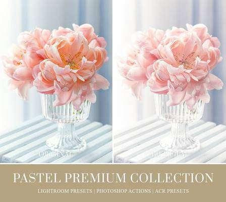 Pastel Effect Lightroom Presets