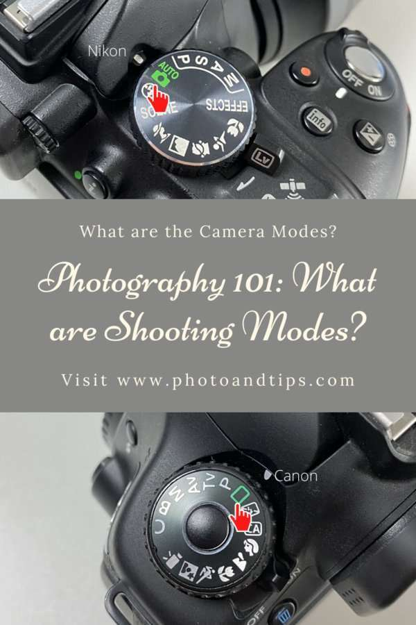 Shooting Modes in Camera Settings-Auto Mode