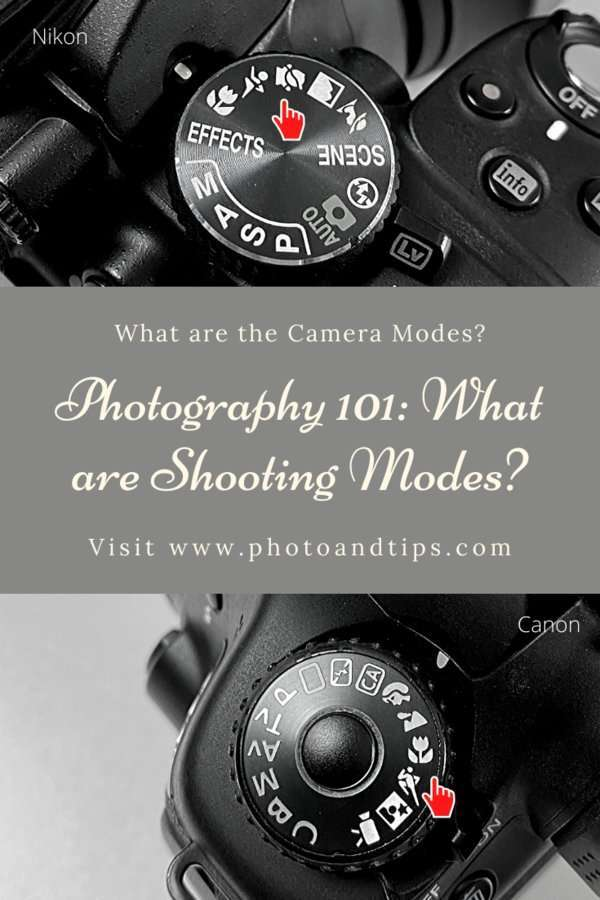 Shooting Modes in Camera Settings-Macro-Landscape Mode
