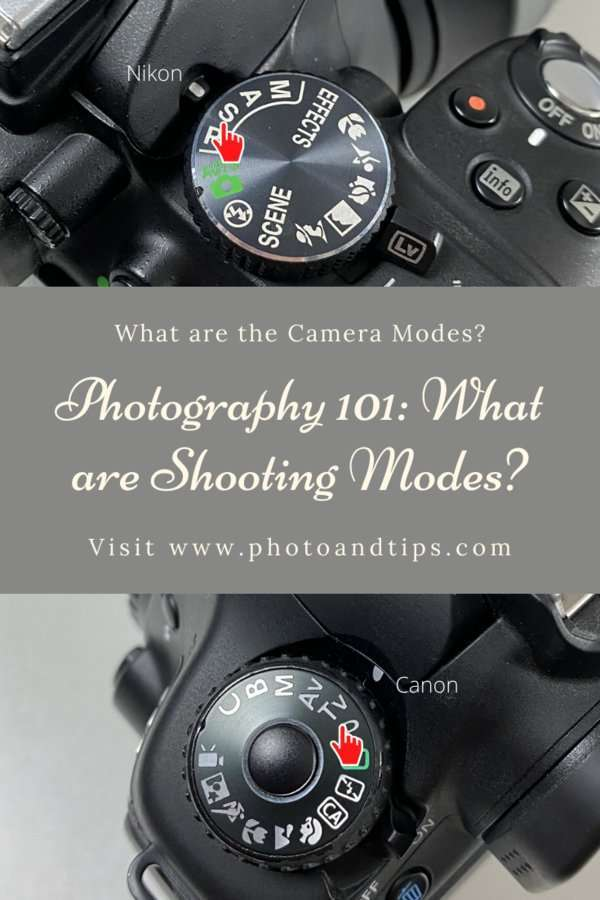 Shooting Modes in Camera Settings-Shutter Priority Mode