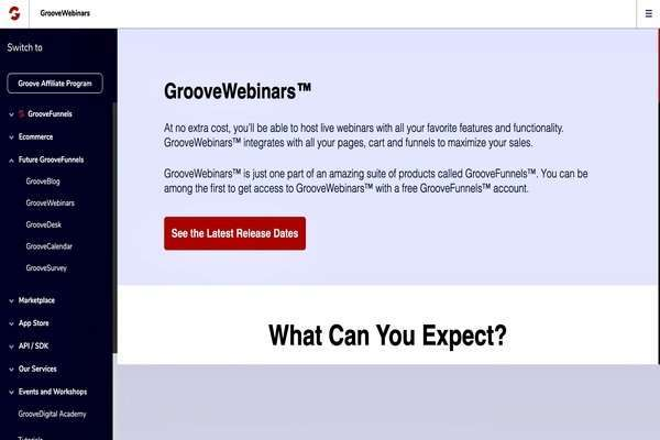 There are two versions of GrooveWebinar - GrooveWebinar for Live Webinars and GrooveWebinars for Automated Webinars