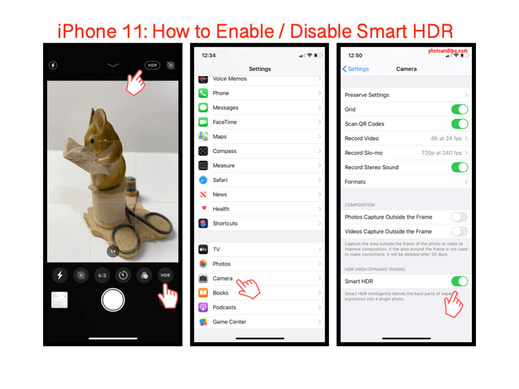 iPhone 11: How to Enable / Disable Smart HDR