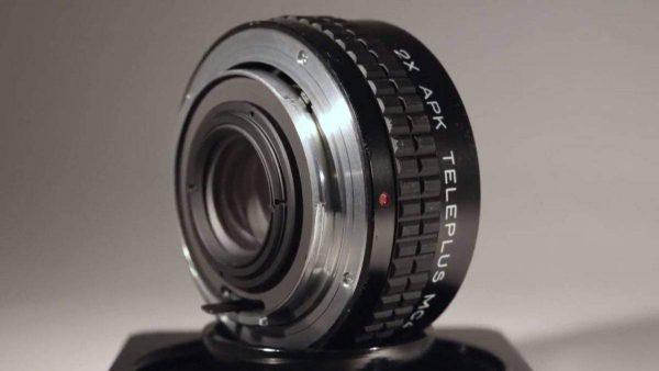 APK TELEPLUS MC4 TELECONVERTER - Vintage Lenses on Modern Cameras